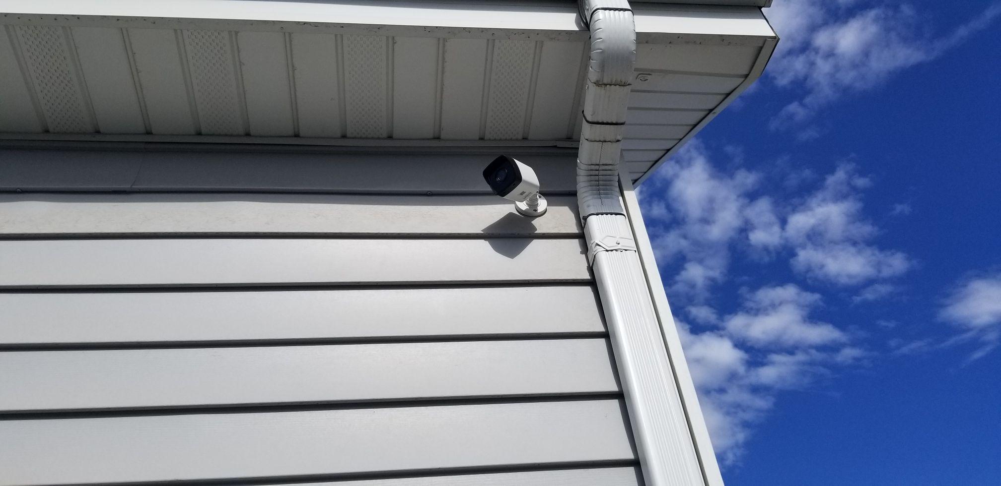 IP Camera on house in Orem Sunny day.jpg