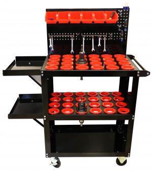 Floor Model CNC Tool cart with Peg board.jpg (2).JPG