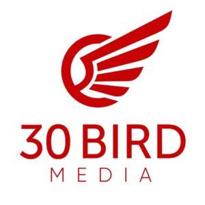 30 birds logo