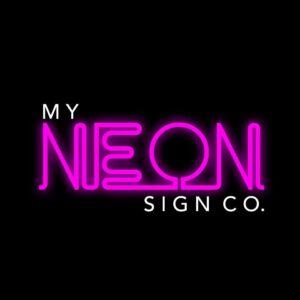 my neon sign company logo