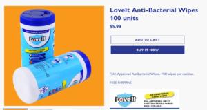 Buy Antibacterial Wipes
