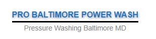 PRO Baltimore Power Wash Logo