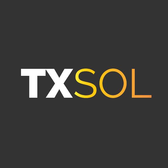 TXSOL-logo-gray
